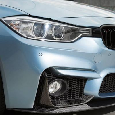 f30 M3 Performance Front Splitter W/Carbon
