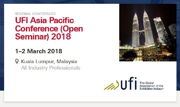 UFI Asia Pacific Conference 2018 March 2018 Year 2018 Past Listing