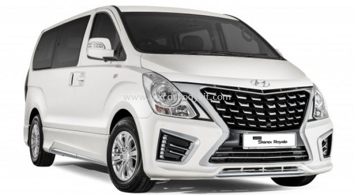 HYUNDAI GRAND STAREX CONVERT TO 2017 ROYALE FACELIFT