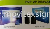 pop up system backdrop with carrybag and painting and design to give your company a outstanding profile in your products disply in the market Exhibition