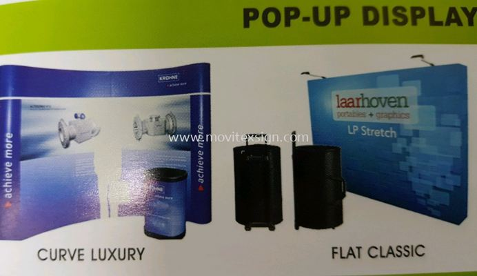 pop up system backdrop with carrybag and painting and design to give your company a outstanding profile in your products disply in the market