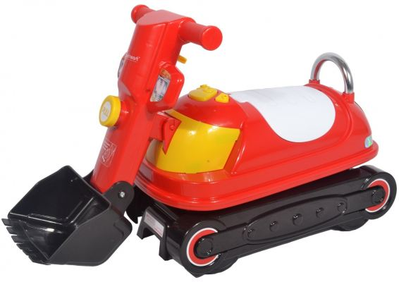 SWEET HEART PARIS TL070 (RED) CHILDREN RIDE ON EXCAVATOR BULLDOZER
