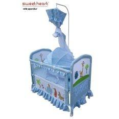 SWEET HEART PARIS CT388 BABY COT (BLUE)
