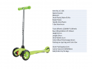JC-206 Bicycle Scooter  Bicycle