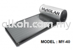 MY-40 Mysolar Solar Water Heater