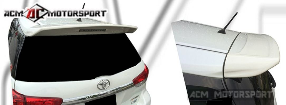 toyota wish 09 big spoiler