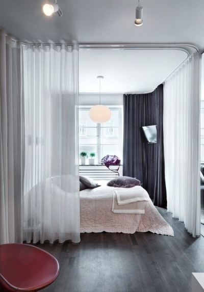 hospital single bedded room curtain (2)
