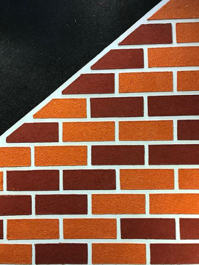 The Brick- Staircase Wall Decoration