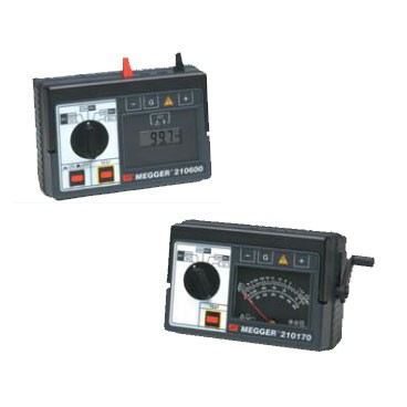 Extended Range Insulation Resistance Testers 210170 and 210600