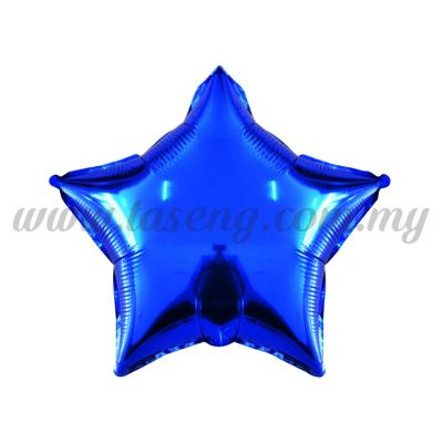 Foil Balloon Star -Dark Blue (FB-10-STDB)