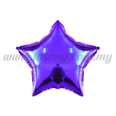 Foil Balloon Star -Purple (FB-10-STPP)