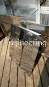Perforated tray Sheet Metal