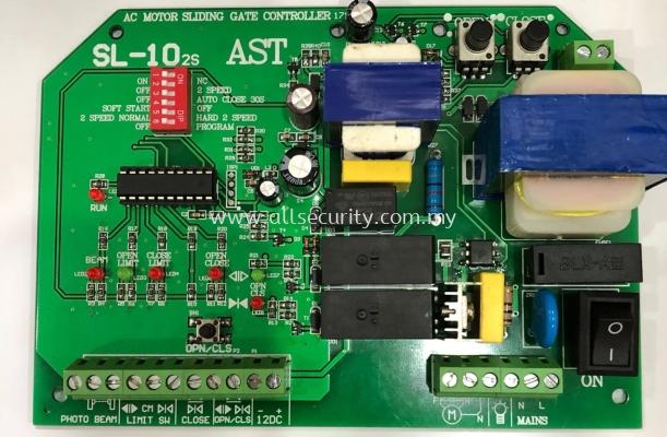 AST SL10-2S CONTROL PANEL