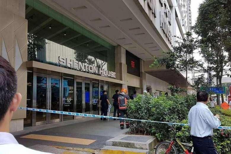 Fire breaks out on 24th floor of Shenton House