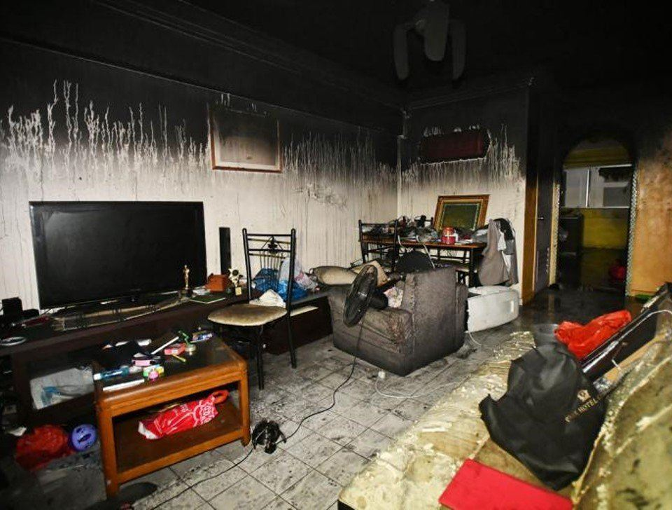 Fire breaks out at Blk 424 Tampines St 41