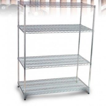 Stainless Steel Wire Shelving Rack