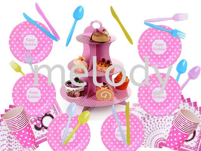Birthday Themed Party Items Promotion!!