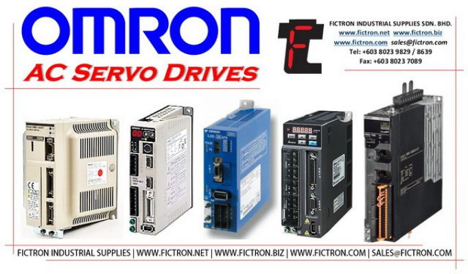 R88D-UA03HA 3 R88DUA03HA 3 OMRON AC Servo Drive Supply & Repair by Fictron Industrial Supplier SDN BHD