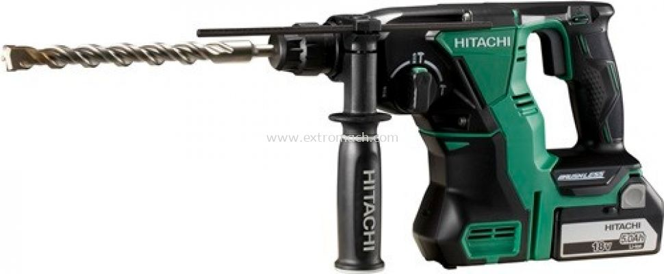 Hitachi 18V Cordless Rotary Hammer with Brushless Motor