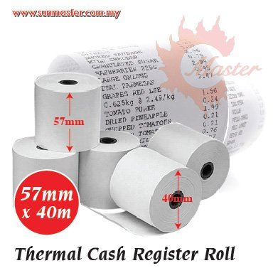 57mm x 40mm Thermal Roll