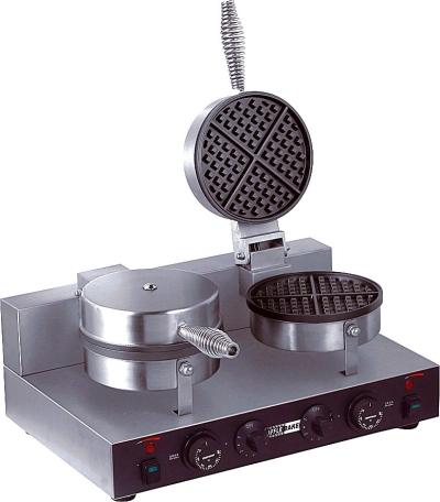 Commercial Teflon Coating Waffle Baker Machine WB-2H