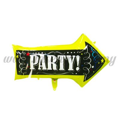 Foil Balloon * Party - Arrow (FB-MC-P050)
