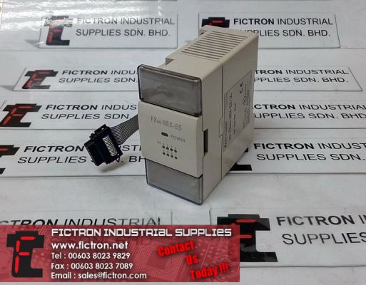 FX0N-8EX-ES/UL FX0N8EXES/UL MITSUBISHI Extension Block PLC Module Supply & Repair By Fictron Industrial Supplies