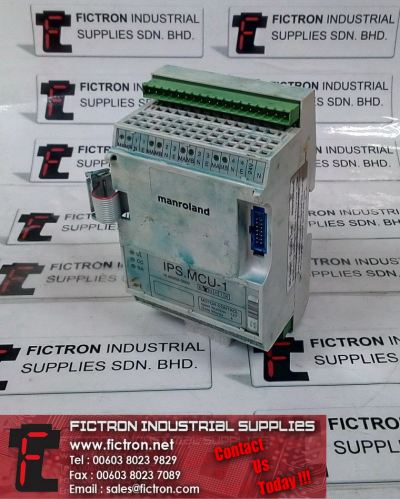 IPS.MCU-1 MANROLAND Printer Controller Supply & Repair By Fictron Industrial Supplies