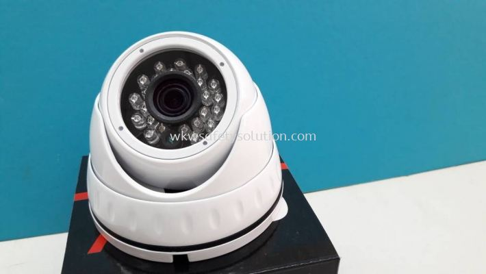 2.4MP Vandalproof IR Dome Camera