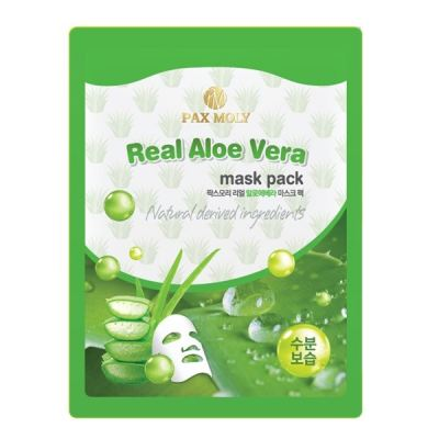 Pax Moly Real Aloe Vera Mask Pack 25ml