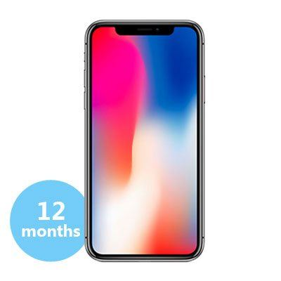 APPLE iPhone X (256GB) | RM638 x 12 months