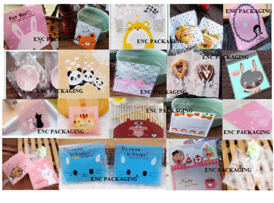 Cookies Plastic Bag