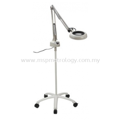 Otsuka LED Free-Arm + Illuminated Magnifier with Caster Stand (ENVL Series(ENVL-FL))