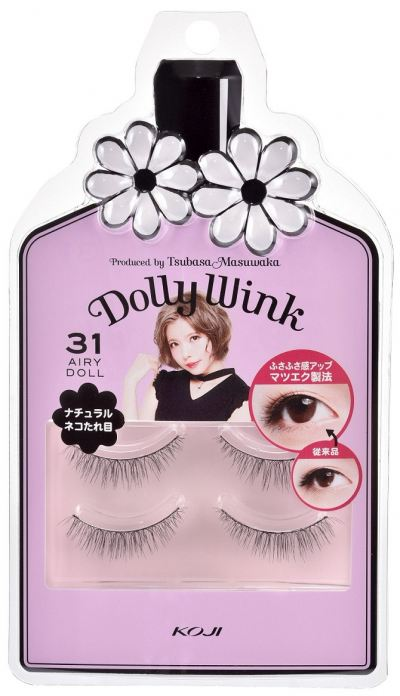 Koji Dolly Wink Eyelash No.31 (Airly Doll)