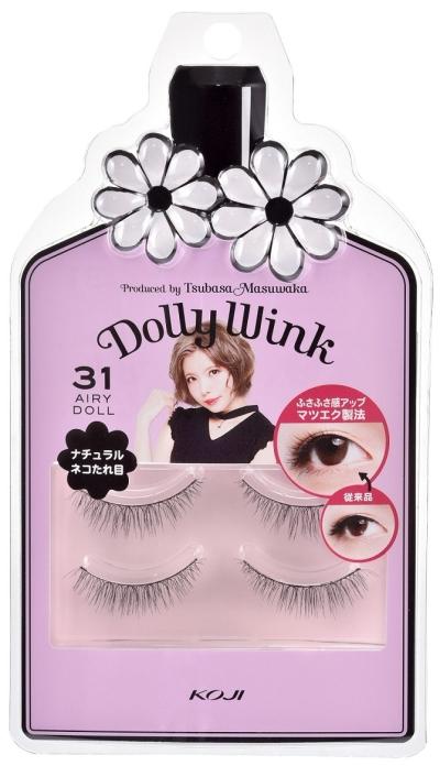 Koji Dolly Wink Eyelash No.31 (Airly Doll)