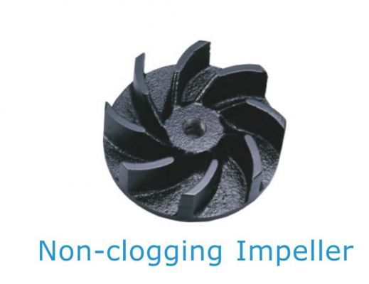 NON CLOGGING IMPELLER