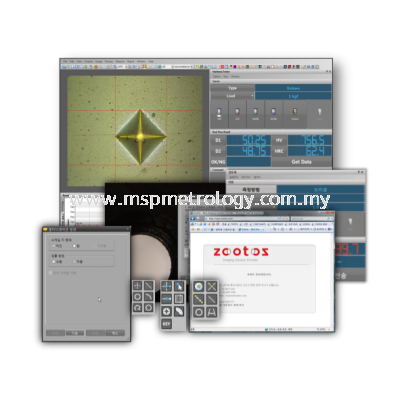 Zootos Software for Image Analysis System (hX Series)