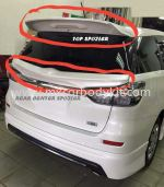 TOYOTA WISH 2009 TOP SPOILER & REAR CENTER SPOILER