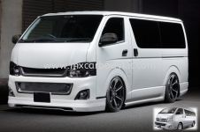 TOYOTA HIACE 2011 CUSTOMIZED BODYKIT