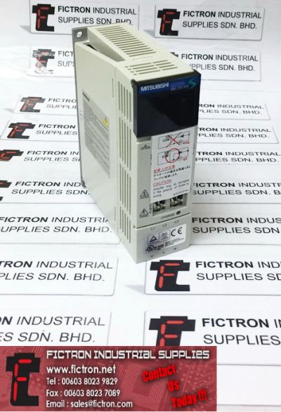 MR-J2S-20A MRJ2S20A MITSUBISHI 200W AC Servo Drive 170V 0-360Hz 1.5A Supply & Repair By Fictron Industrial Supplies