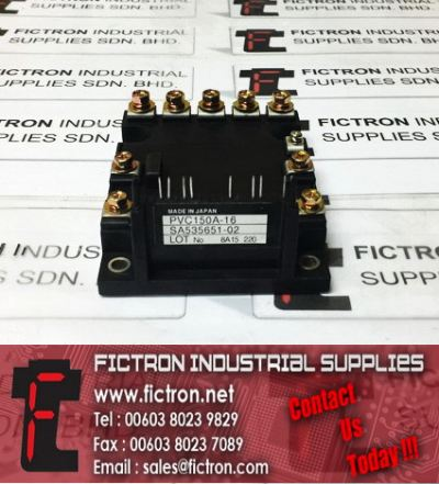 PVC150A-16 SA535651-02 NIEC Power Module IPM Supply Malaysia Singapore Thailand Indonesia