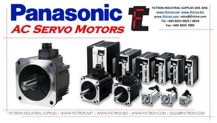 WPS90 PANASONIC AC Servo Motor Supply by Fictron Industrial Supplies SDN BHD.