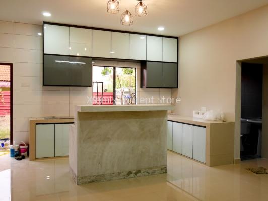 Aluminium kitchen cabinet - Hulu Langat