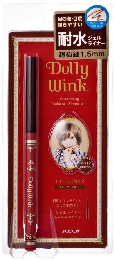 Koji Dolly Wink Gel Eyeliner Melty Brown