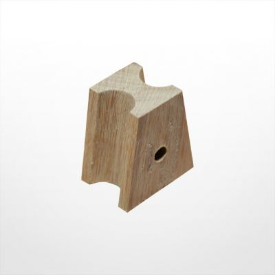 LA33) Wooden Choke with Hole