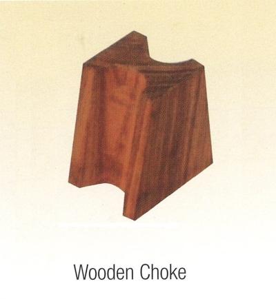 LA34) Wooden Choke W/O Hole