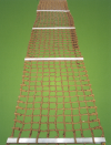 NT04) Scramble Nets �C Woven (With or Without Aluminium Spreader) Netting Marine & Offshore