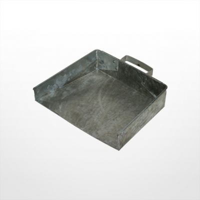 DE12) Galvanized Dust Pan