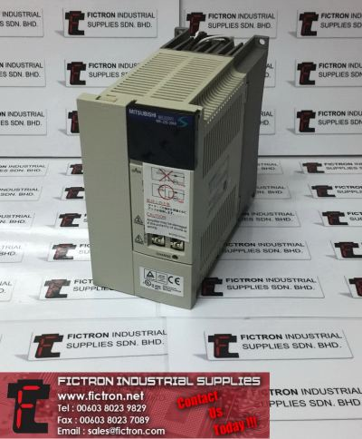MR-J2S-200A MITSUBISHI 2kW 10.5A 0-360Hz AC Servo Amplifier Supply & Repair Supply Fictron Industrial Supplies