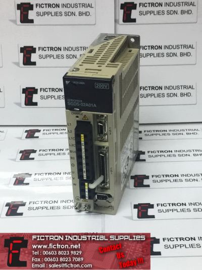 SGDS-02A01A SGDS02A01A YASKAWA Servopack AC Servo Amplifier Supply & Repair Fictron Industrial Supplies